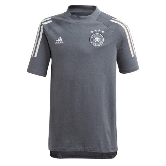 Adidas Deutschland DFB T-Shirt EM 2021 Kinder Dunkelgrau