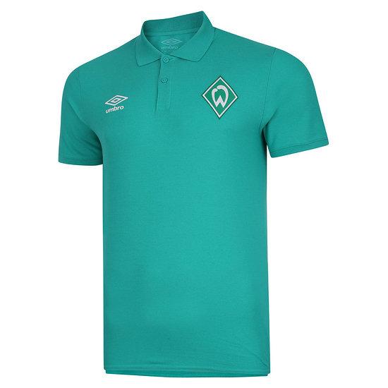 Umbro SV Werder Bremen Polo Shirt 2020/2021 Grün