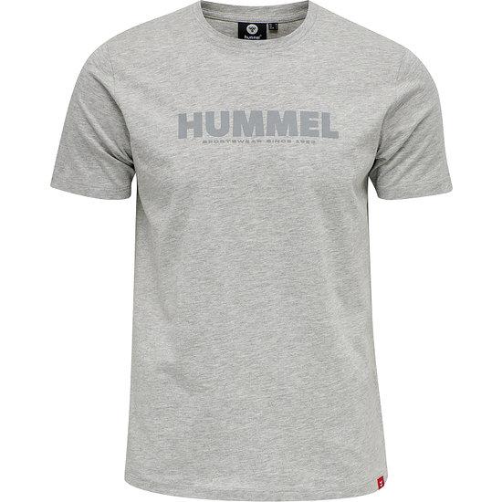 hummel T-Shirt Legacy grau melange