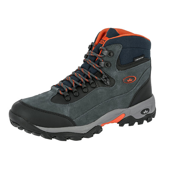 Lico Trekking Stiefel Milan anthrazit/orange