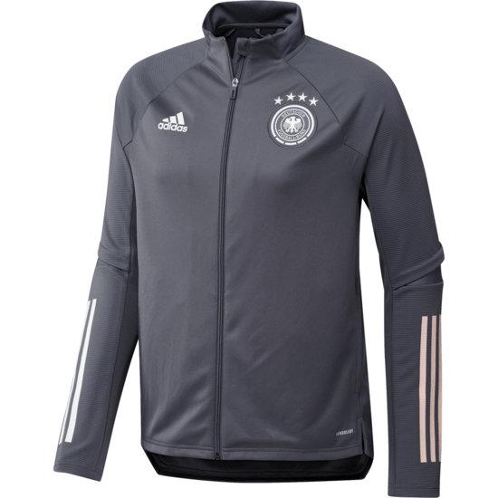 Adidas Deutschland DFB Trainingsjacke EM 2021 Dunkelgrau