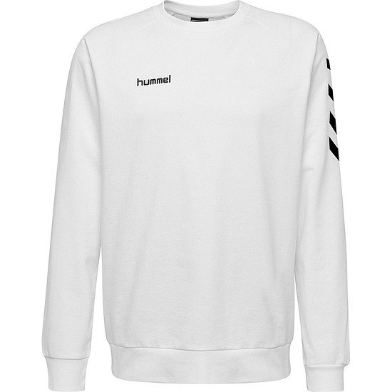 hummel Sweatshirt Go Cotton weiß