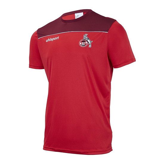 uhlsport 1. FC Köln Trainingsshirt Poly 2020/2021 rot