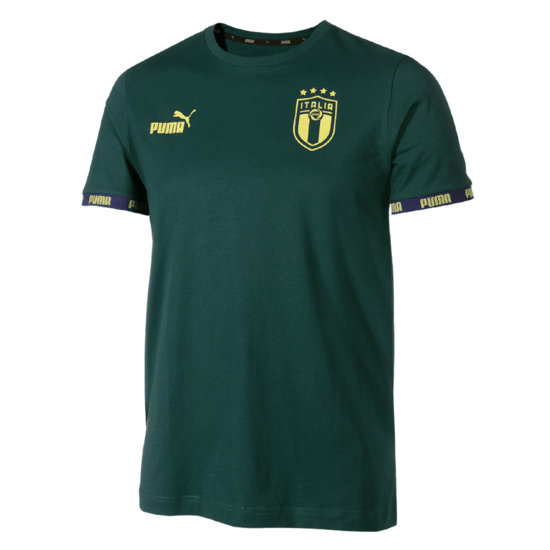 Puma Italien Training Shirt EM 2021 Grün