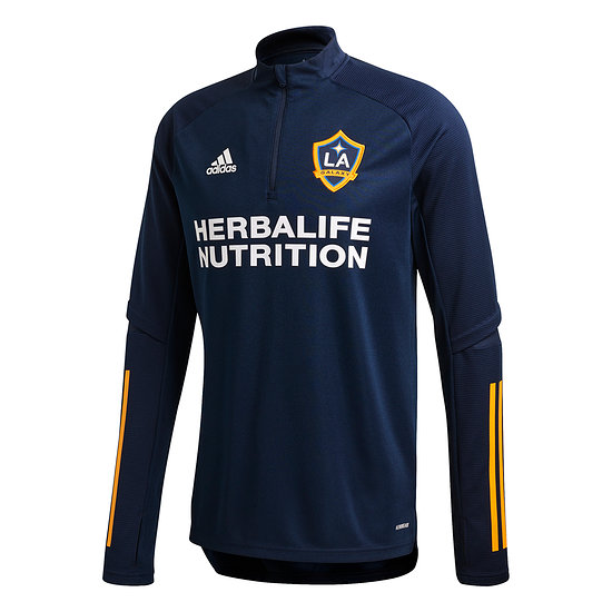 Adidas LA Galaxy Training Top 2020 Blau