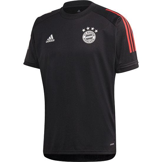 Adidas FC Bayern München Trainingsshirt 2020/2021 Kinder Schwarz