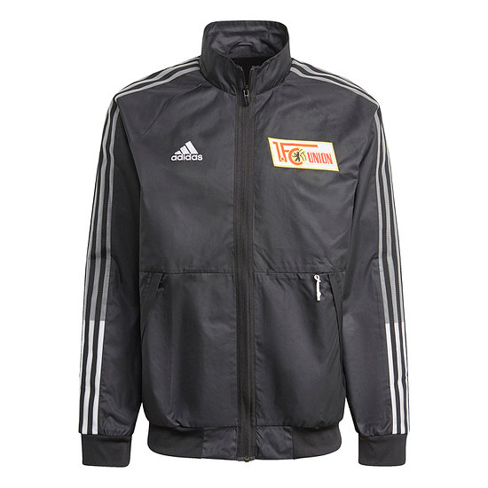 Adidas 1. FC Union Berlin Trainingsjacke 2020/2021 Schwarz