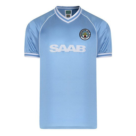 Scoredraw Manchester City Retro Trikot 1982