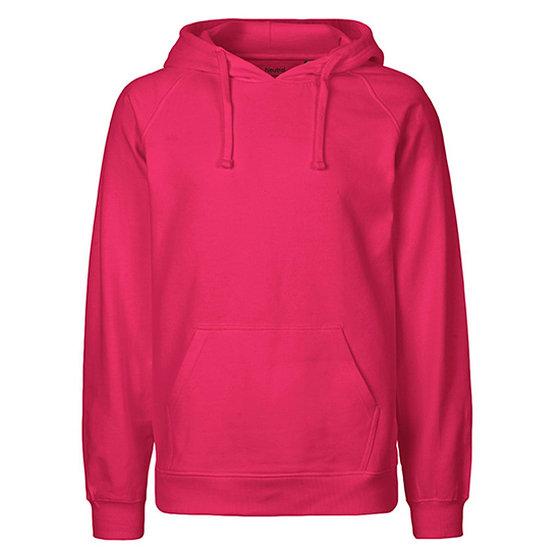 Neutral Hoodie Basic Bio-Baumwolle pink