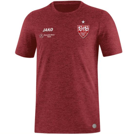 Jako VfB Stuttgart T-Shirt Premium Rot