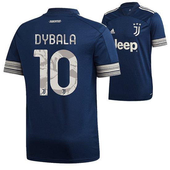 Adidas Juventus Turin Trikot DYBALA 2020/2021 Auswärts Kinder