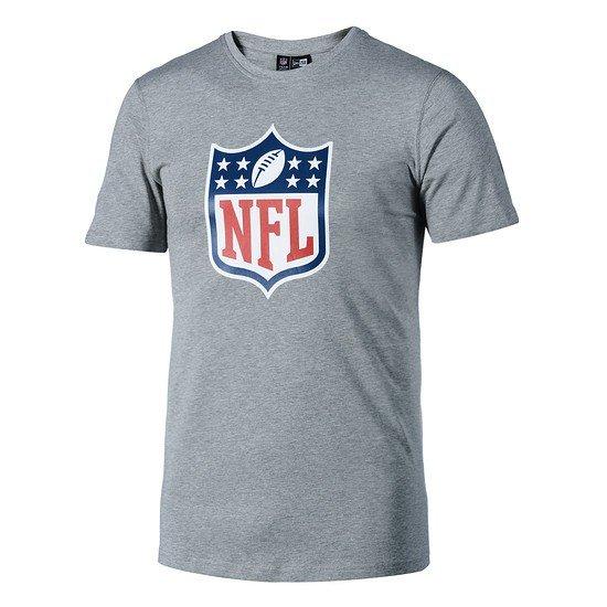 New Era T-Shirt NFL Shield Logo hellgrau