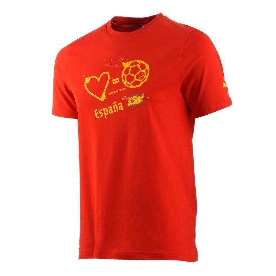 Puma Spanien T-Shirt Love = Football