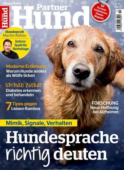 Cover Zeitschrift Tv Herz Partner Hund
