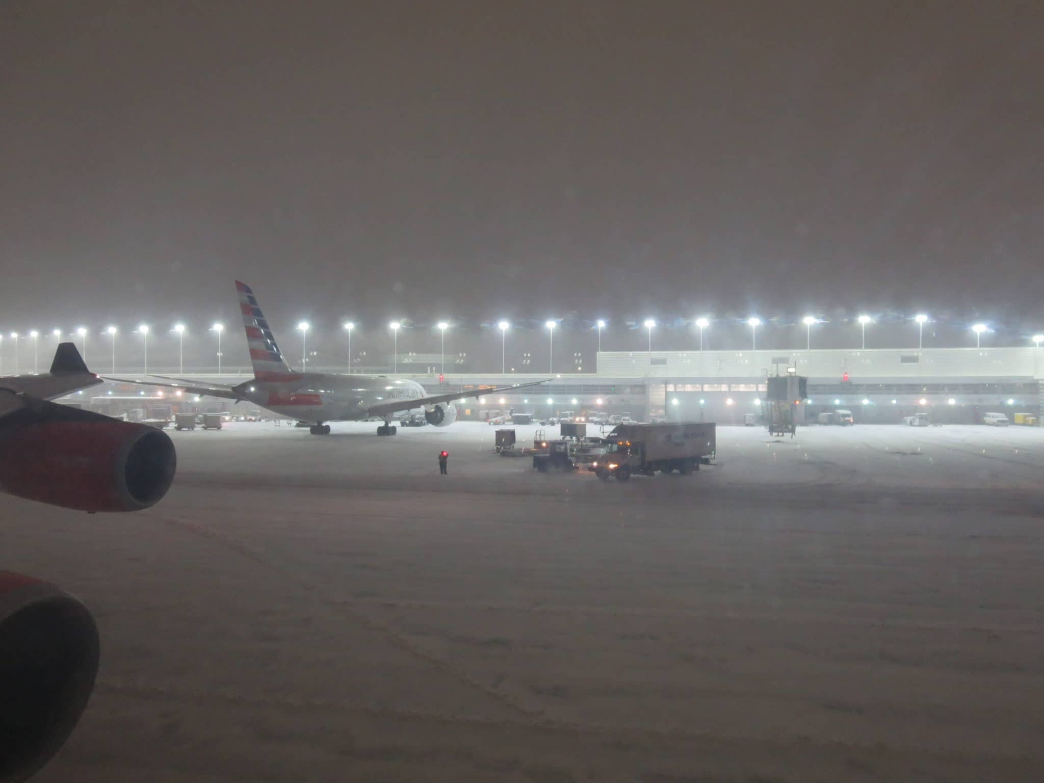 Chicago Airport Winter