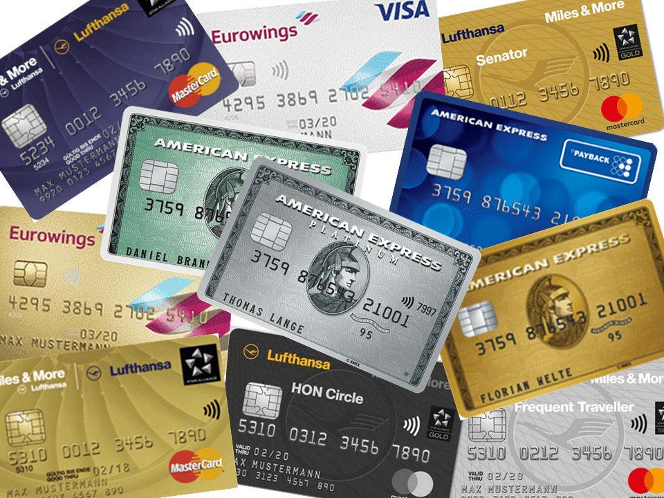 Meilen sammelt man mittlerweile auch mit Kreditkarten