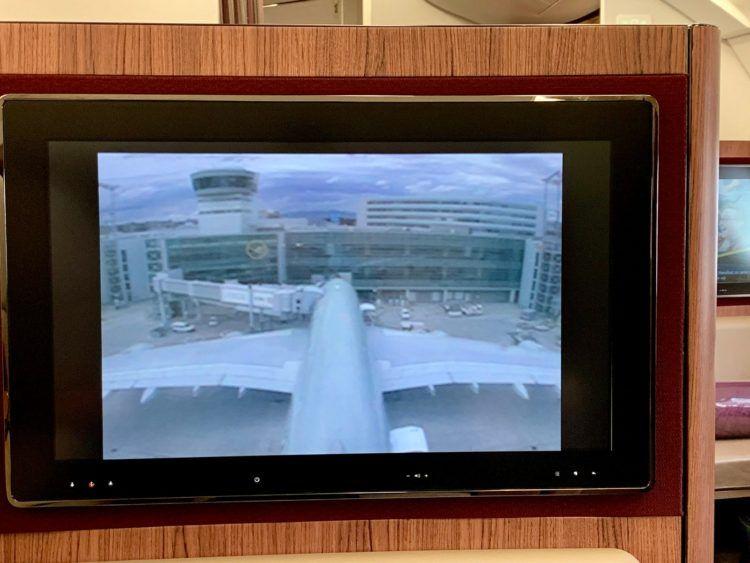 Qatar Airways First Class A380 Kamera