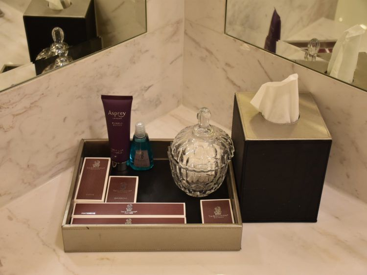 Ritz-Carlton Badezimmer Amenities