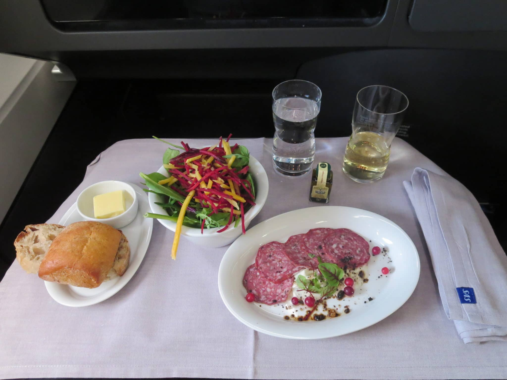 SAS Business Class Essen