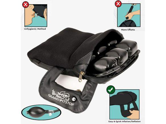 GRAND PITSTOP Bike air Cushion seat (Pillion)