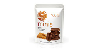 4.20 Minis Milk Chocolate Toffee Bars Product Image