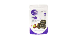 4.20 Minis Dark Chocolate Hazelnut Bars Product Image