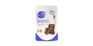 4.20 Minis CBD 1:1 Milk Chocolate Bars Product Image
