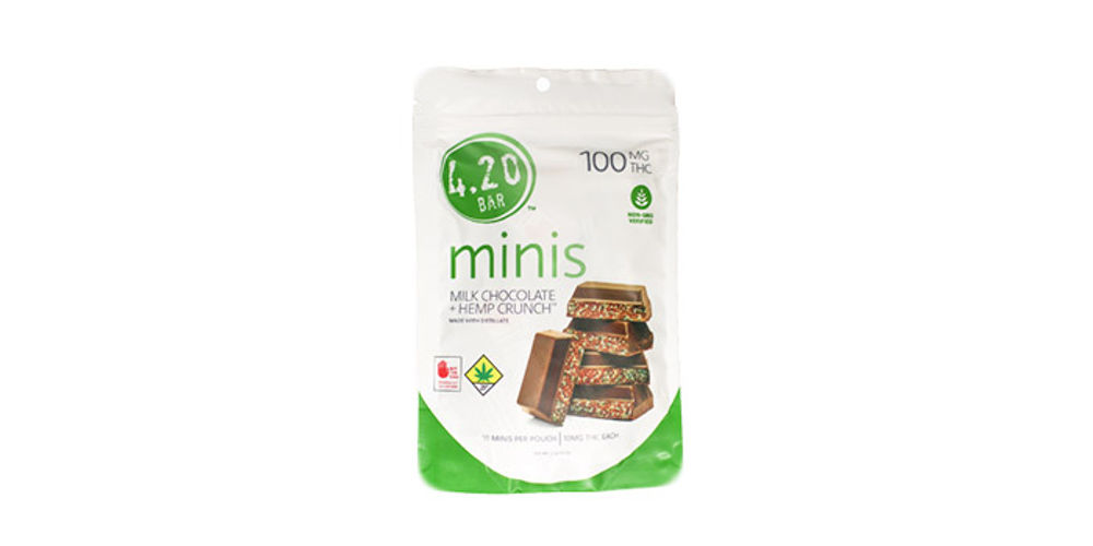 Milk Chocolate Hempcrunch Minis Product Image