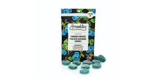 Delta 8 Blue Raspberry Fruit Chews Product Image