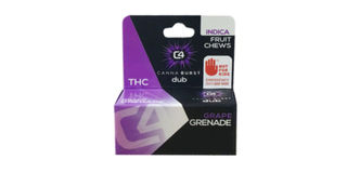 Canna Burst - Grape Grenade Indica Fruit Chews Product Image