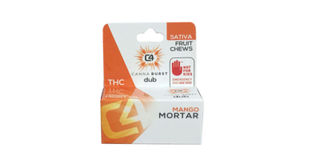Canna Burst - Mango Mortar Sativa Fruit Chews Product Image