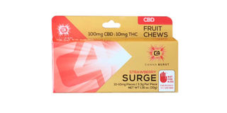 CBD Canna Burst - Strawberry Surge Fruit Chews Product Image