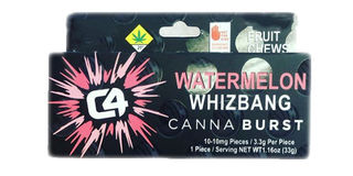 Watermelon Whizbang CBD Fruit Chew Product Image