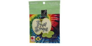 Sour Apple Fruit Drops Product Image