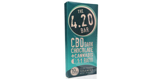 4.20 CBD Dark Chocolate Bar Product Image