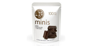 4.20 Minis Dark Chocolate Sea Salt Bars Product Image