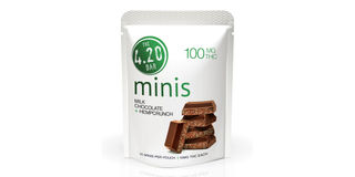 4.20 Minis Milk Chocolate Hemp Crunch Bars Product Image
