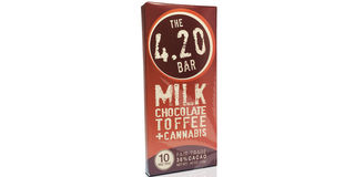 4.20 Milk Chocolate Toffee Bar Product Image
