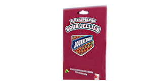Red Raspberry Sour Fruit Jellies Product Image