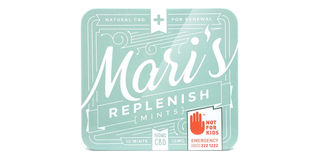 Replenish CBD Peppermint Mints Product Image
