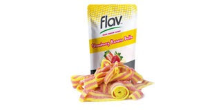 Strawberry Banana Sour Belts Product Image