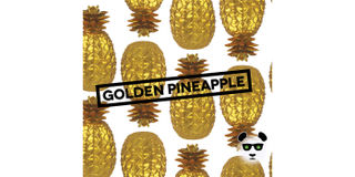 Golden Pineapple Bong Buddies Product Image