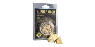 Wavy Blue Bubble Hash Product Image