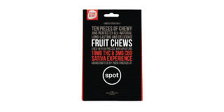 CBD 3:10 Sativa Strawberry Fruit Chews  Product Image