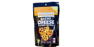 June's Nacho Cheese Pretzels 100mg Product Image