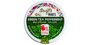 Green Tea & Peppermint Sativa Mints Product Image