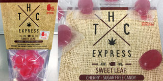 Cherry SUGAR-FREE Sweet Leaf Hard Candy Product Image