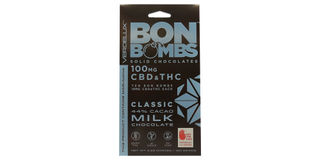 CBD 1:1 Milk Chocolate Bon Bombs  Product Image