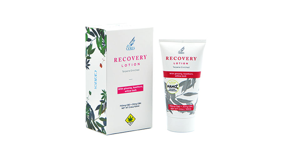 Recovery Lotion Product Image