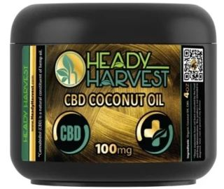 Heady Harvest Coconut Oil 100mg Product Image